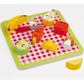 2 Fruta Puzzle Encaje Janod 1 En Sq4Lc53ARj