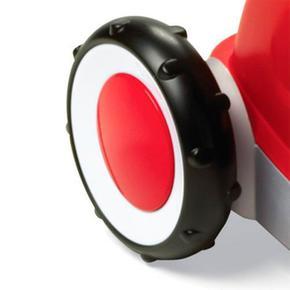 Plástico 1 Rojo Radio En Flyer 3 Vagoneta De AR43jL5