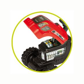 Remolque Gm A Con Smoby Pedales Bull Tractor Rojo bWE9I2eHYD