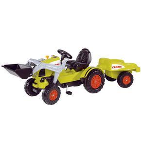 Tractor Class Celtis Con Pala Y Remolque Smoby