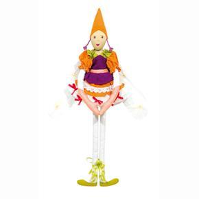 Loiseau Bateau Elfa Bailarina Nudo Naranja Violeta