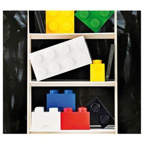 2 Lego Almacenamiento Ladrillo Roja Nvm0n8w