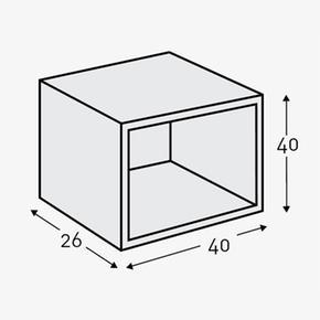 Color Cp Cubo Decorativo Cerezo De 1510 Micuna rxhQtdCBs