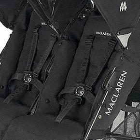 De Negro Frame Black On Paseo Maclaren Twin Sillita Techno vfgb76Yy