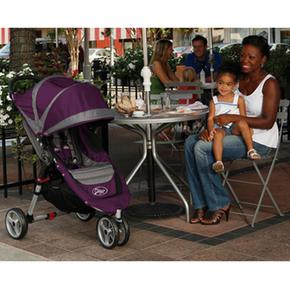 gris Baby Jogger De City Mini Morado Paseo Sillita IYE9D2WH