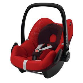 Bebe confort silla de coche grupo 0 pebble intense red for Silla coche bebe grupo 0