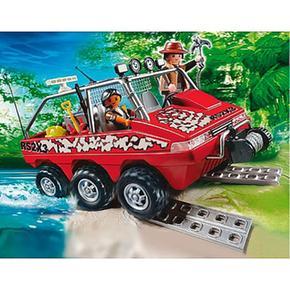 Anfibio Buscadores Los De Tesoro Camión Playmobil Del WCrdxBoe