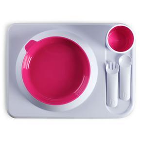 Rosa Atablo Hoppop Set Para Fucsia Comer Color OvNnPm08wy