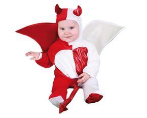 Disfraz Bebé Angel Y Demonio Talla 6 A 12 Meses