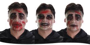 Máscara Transparente Sangre