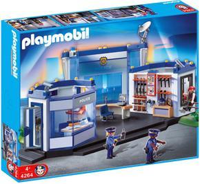 Playmobil Cuartel De Policía