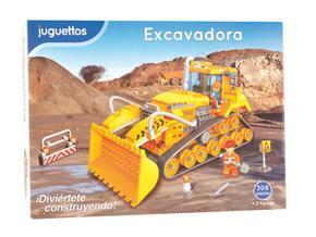 Juguettos Figuras 308 Piezas 2 Excavadora Con m0vN8nw