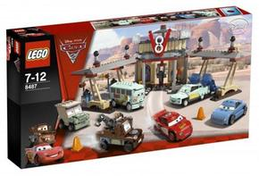 Lego 8487 Cars El Café De Flo V8