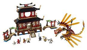 Ninjago Fuego Del 2507 Templo Lego zMqUVSp