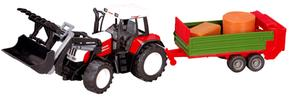 Tractor A Fricción + Remolque 72 Cm