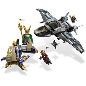 Súper Héroes Aéreo Lego Quinjet En Combate El 1lFcTKJ3