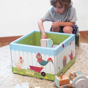 Caja para guardar juguetes krooom - Cajas para almacenar juguetes ...