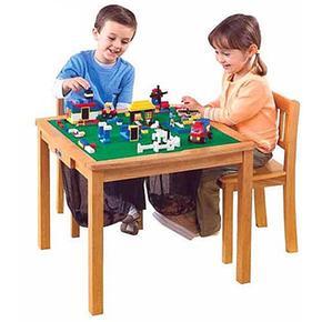 Con Sillas Construcción Lego Mesa De 2 f6g7yYb