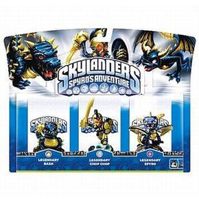 Triple Legendary Skylanders Triple Legendary Pack Triple Pack Skylanders Pack Skylanders Skylanders Legendary Legendary Triple bH9eD2YWEI