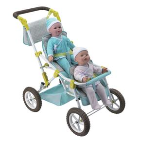 Gemelos nbsp;sillita Paseo Babybebé Muñecosspan Duospannbsp; Handwalk 76vgfYby