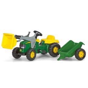 Tractor+ Loader+ Trailer