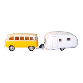 Car Set Bus & Caravan