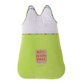 Saco Dormi Pequeño Para Bebés Mod. Petit Zoo Rojo Petit Praia