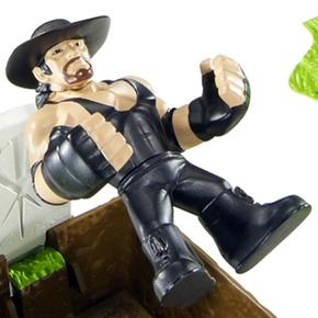 Undertaker Casket Wwe Figura Match Playset XPOkiuZ