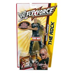 Rock The Wwe Wwe Figura Rock The Figura Flexforce Flexforce TFJu1clK3