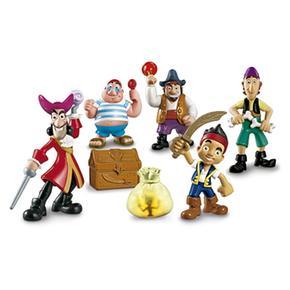 Fisher Price – Jake Y Los Piratas De Nunca Jamás – 5 Figuras