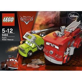 Lego Cars – El Rescate Acuático De Rojo – 9484