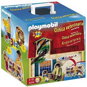 Cl nica veterinaria malet n 4374 playmobil - Clinica veterinaria silla ...