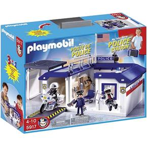 malet n comisar a de polic a 5917 playmobil. Black Bedroom Furniture Sets. Home Design Ideas