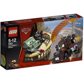 Lego Cars – La Huida Del Agente Mate – 9483