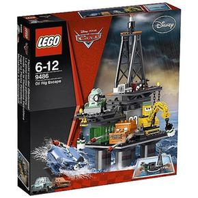 Lego Cars – Huida De La Plataforma Petrolífera – 9486
