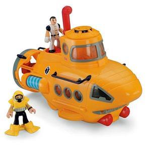 Imaginext – Súper Vehículo De Rescate – Submarino
