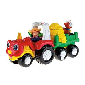 Fisher Price – Vehículo Sonidos Sorpresa Little People – Tractor