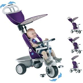 Smart Trike Triciclo Recliner Purpura