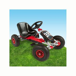 Kart Roues Gonflables Negro Rojo