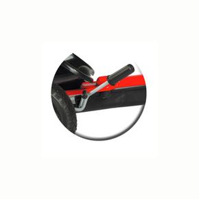 Negro Rojo Kart Gonflables Roues fgb76y
