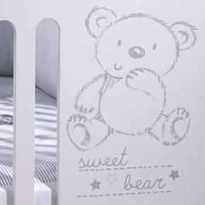 Cuna Basic 120×60 Sweet Bear De UzGMVqSp