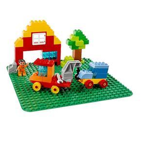 Construcción Lego Base De Verde Duplo 2304 YbIfv6gym7