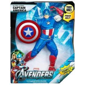 Avengers América The Electrónica Capitán Figura vw0mnN8
