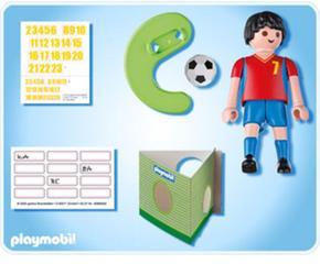 Playmobil España De De Fútbol Playmobil Jugador Jugador Fútbol gyb7Yf6v