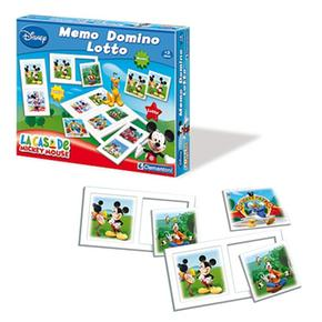 Memo lotto Mickey Pack domino Ch 5Rq3jL4A