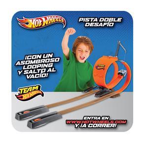 Pista Desafío Wheels Pista Wheels Hot Doble Hot D2WH9EI