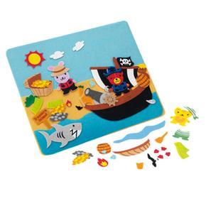 world Piezas Piratesspannbsp; nbsp;puzzle De Telaspan Felty TkXuwOPZi