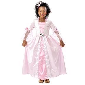 Disfraz Princesa Rosa Con Estrellitas 7-9 Años
