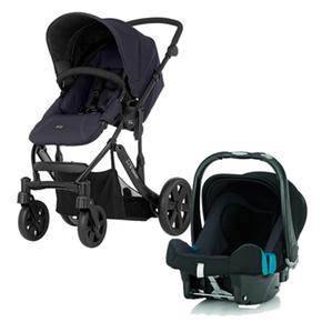 sillita de paseo britax b mobile con r mer baby safe black thunder. Black Bedroom Furniture Sets. Home Design Ideas
