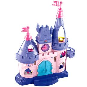 Castillo Little People Mattel